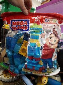Mega Bloks kids