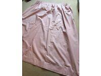 Curtains - John Lewis Pink Spot fabric