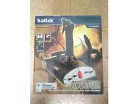 Saitek AV8R-01 Aviator PC Joystick Game Controller with original box