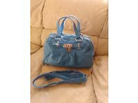 Details about DOMO Womens Leather Handbag/Shoulder Bag
