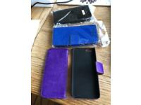 3 x iPhone 5 cases (book style)