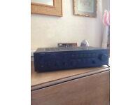 Yamaha A500 Amplifier and Wharfedale Speakers Diamond 8.1