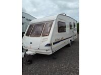 Sterling Europa 520 2002 4 Berth Caravan with Awning