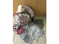 Huge bag of girls clothes, age 7-10 years