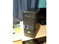 Black PC CASE with DVD Drive + USB 3.0 ports - Black Cooler Master Elite 335U Case