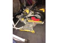 Dewalt dws780 chop saw