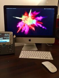 New style Apple iMac, Bluetooth Magic Mouse & Keyboard next to no use! 2.7Ghz i5 8GB 1TB 21.5 inch