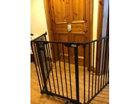 Baby start extra wide adjustable gate
