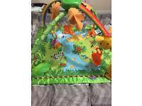 Fisher Price Rainforest baby play gym VGC