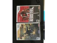 wii games Reed steel and ghost squad