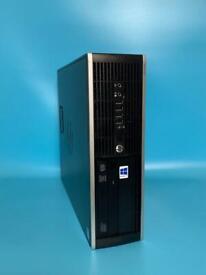 HP UltraFast 8GB Ram 120SSD +500GB Pc Desktop Computer Tower Win 10, WiFi, Ms office