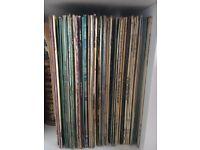 """Job lot of 279 12"""" Vinyl - 50s/60s/70s/80s/90s"""