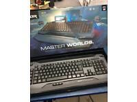 Master worlds keyboard