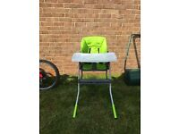 Chicco highchair used