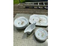 Wedgwood Old Chelsea - Georgetown Collection - Dinner Service Set