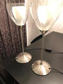 M&S table lamps