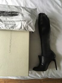 GEORGINA GOODMAN KNEE LENGTH BOOTS SIZE 5