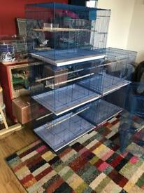 Bird cages 4 left