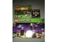 Rare discounted Minecraft Lego all new in sealed boxed