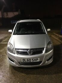 Vauxhall zafira 1.8 sri with xp pack