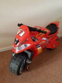 Avigo Red Ride-on Motorbike