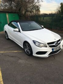 IMMACULATE (AS NEW) Mercedes E220 CDI Convertible SPORT AMG Automatic
