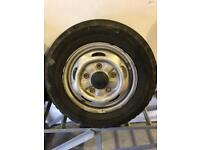 Ford transit MK7 wheels and tyres