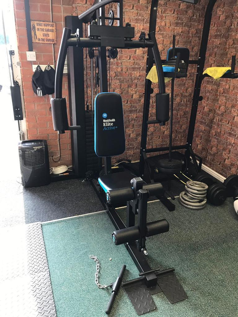 Multi gym 90kg and barbell squat stand in kingswood east yorkshire