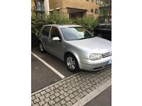 VW GOLF, 2002 only 90k Milage, MOT until Aug 2017, New Battery &Tyre
