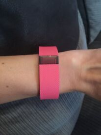 Fitbit charge HR pink barely used mint condition