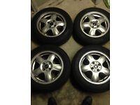 Mini Cooper 15inch Alloy wheels x4
