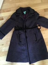 Monsoon coat age 4-6