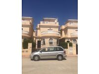 3 bed villa sleeps 8 La Marina Costa Blanca Spain with free car hire!