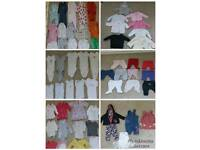 Baby girl clothes bundle 0 -3 months