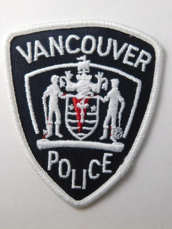 VANCOUVER POLICE VINTAGE PATCH BADGE BRITISH COLUMBIA CANADA COLLECTOR