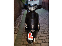 PEUGEOT V CLICK 50 CC MOPED LOW MILEAGE 12M MOT GREAT CONDITION