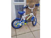 Kids apollo police patrol bike, 14 inch, great condition, like new