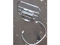Vespa GTS GTV grab rail and rack