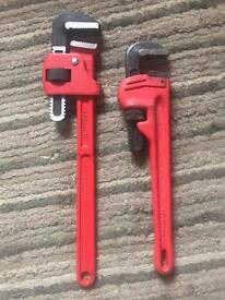 """Rothenberger stilsons Pipe wrench 18"""" + 14"""""""