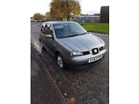 BARGAIN 2003 53 SEAT AROSA LOW MILEAGE MOTED MARCH 2018 RELIABLE CAR PX WELCOME £425