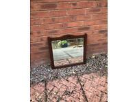 Antique Wooden Mirror