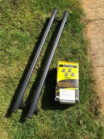 BMW 1 series or 3 series (2005 onwards) Roof Rack by Totus All parts included.