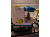 Baby food steamer and processor 2 in 1
