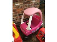 Cosy coupe pink