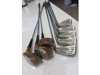 Ladies Golf Clubs - irons and woods