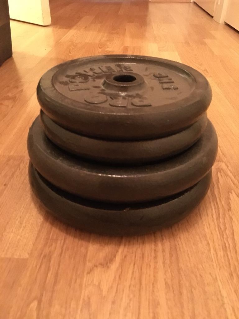 Cast iron weight plates