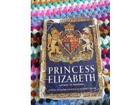 Princess Elizabeth Duchess of Edinburgh book from 1950 - Queen Elizabeth - vintage book