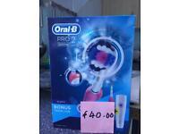 Oral-B Pro2 3D White toothbrush