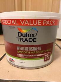 Dulux weathershield paint