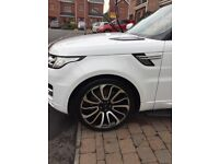 Original Range Rover Rims with Tyres. Great condition.